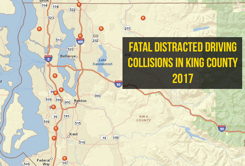 fatal distracted driving king county 2017
