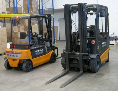 forklift accident