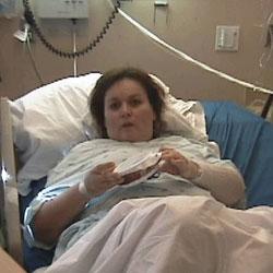 Hospitalized Fran