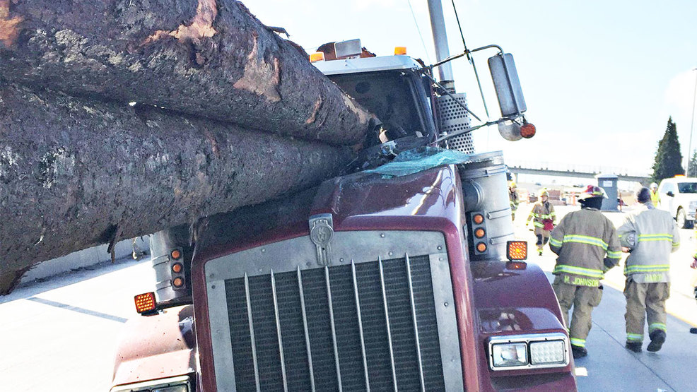 tacoma logging truck crash