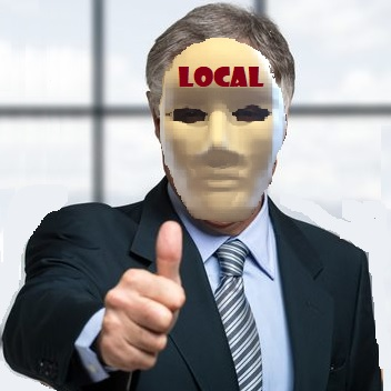 masquerading as a local law firm
