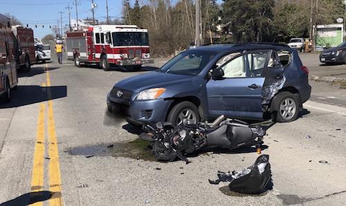 motorcycle crash skyway