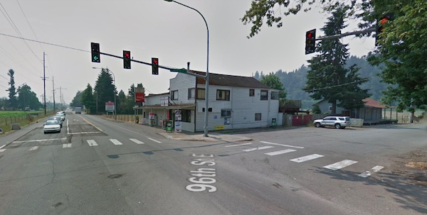 orting crash location