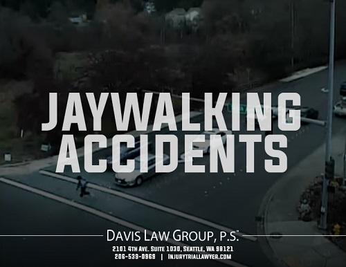 pedestrian accident jaywalking