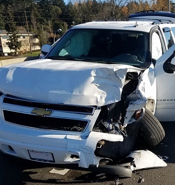 rear-ended by senior citizen driver