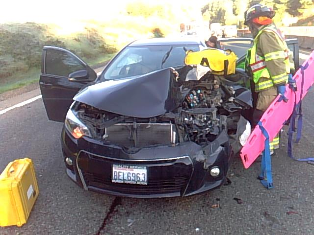 Rear end accident on Tiger Mountain