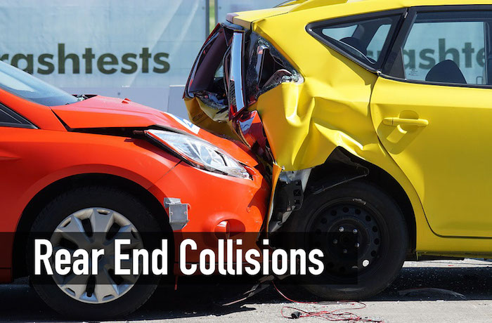 rear end car accident settlement