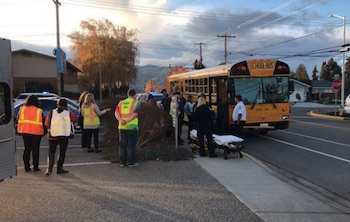 school bus crash wenatchee