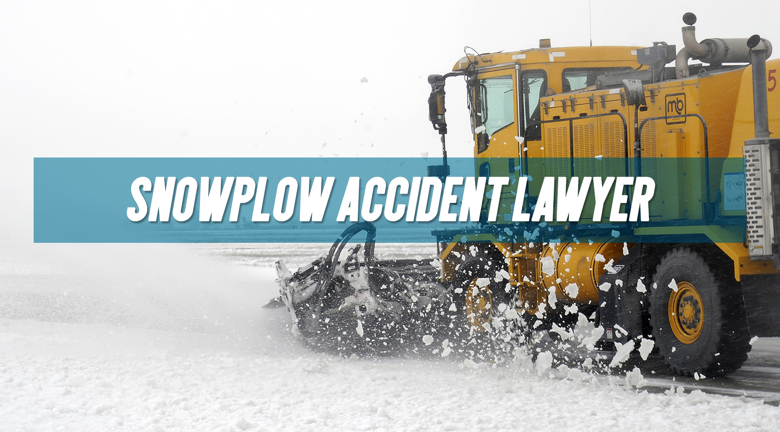 snowplow collision accident lawyer