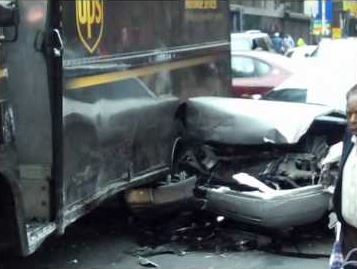 ups truck car accident lawyer