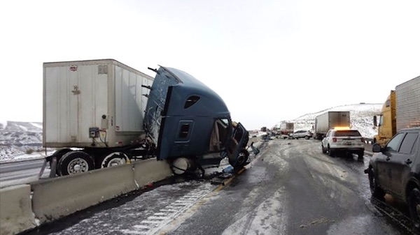 vantage semi crash