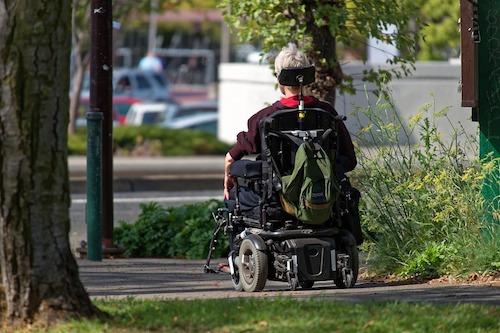 wheelchair accident