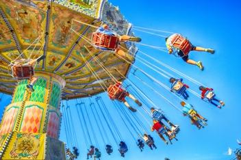 Amusement Park Ride in Virginia