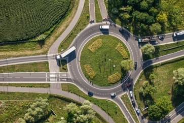 A Busy Roundabout