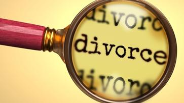 Divorce Paperwork Under a Magnifying Glass