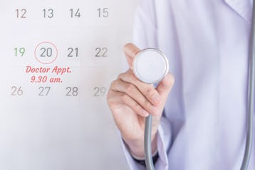 Doctor's Appointment Calendar