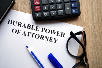Durable Power of Attorney Paperwork and Calculator