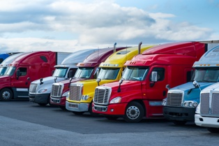 A Trucking Fleet in Norfolk