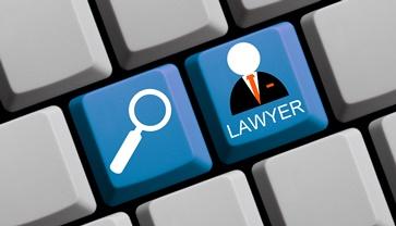 Lawyer Search Keyboard Button