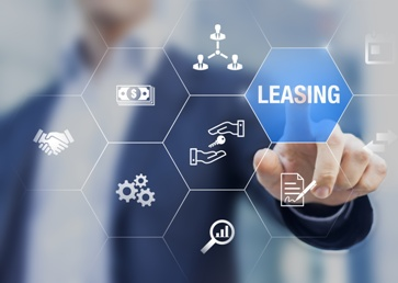 Man Pressing a Leasing Button