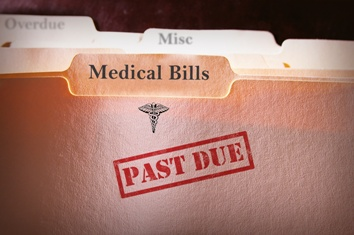 Medical Bills Folder - Past Due