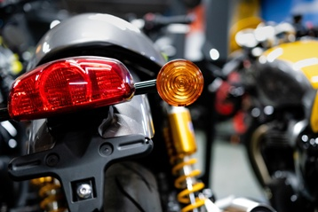 Motorcycle Turn Signal Light