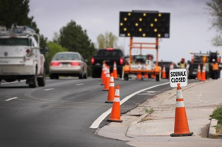 What Causes Construction Zone Car Wrecks