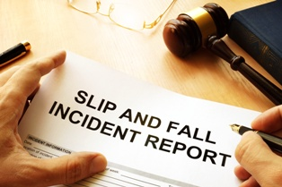 A Slip and Fall Incident Report Can Help Show Fault in a Negligence Case