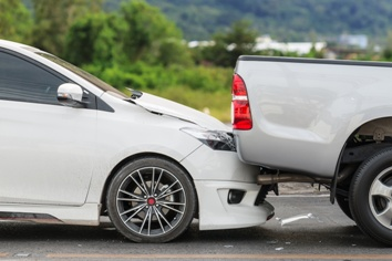 Staged Rear-End Collision