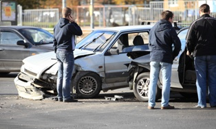 Gathering Evidence at the Scene of an Car Accident