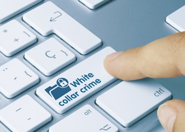 White Collar Crime Key on a Keyboard
