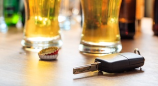 Car Keys and Alcoholic Drinks in a New Mexico Establishment