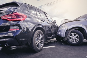 Cars With Serious Damage After a Car Wreck