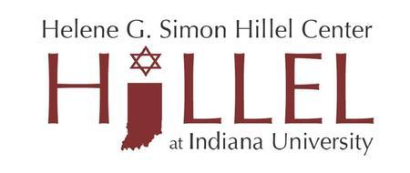 Indiana Univeristy Hillel organization logo