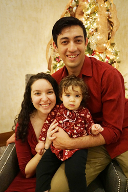 Attorney Samantha Drum and her family
