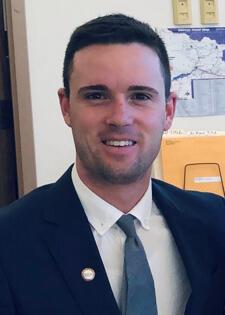 Keifer Johnson, recipient of the Keller & Keller 2019 UNM Law Scholarship.