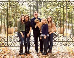Jim Keller and His Family
