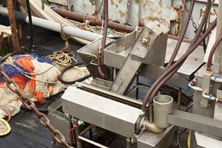 Fishing vessel conveyor belt accidents