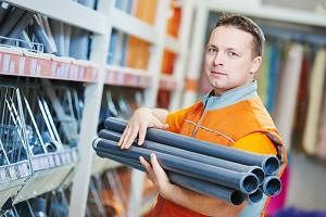 Hardware store retail clerk