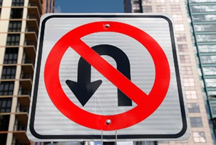 Are u-turns legal in Texas?