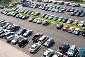 aerial-view-of-a-Seattle-parking-lot