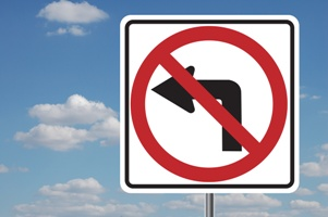 no-left-turn-street-sign