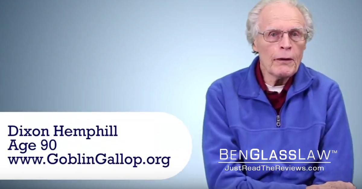 Ben Interviews 90 Year Old Record Holder Dixon Hemphill