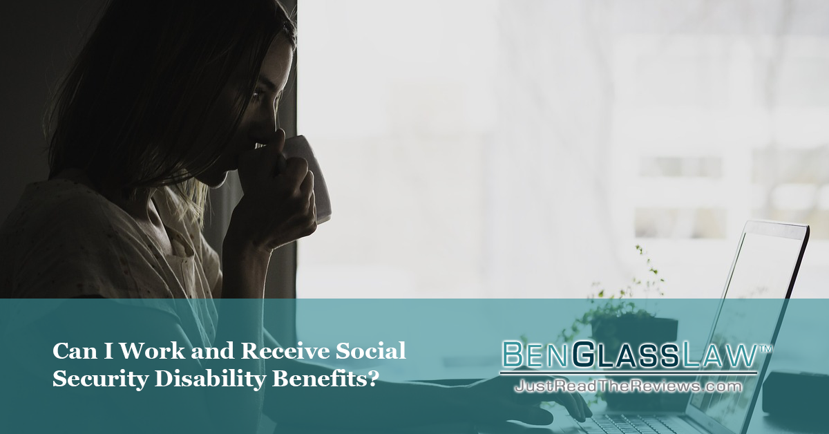 Can you work and receive social security disability benefits?