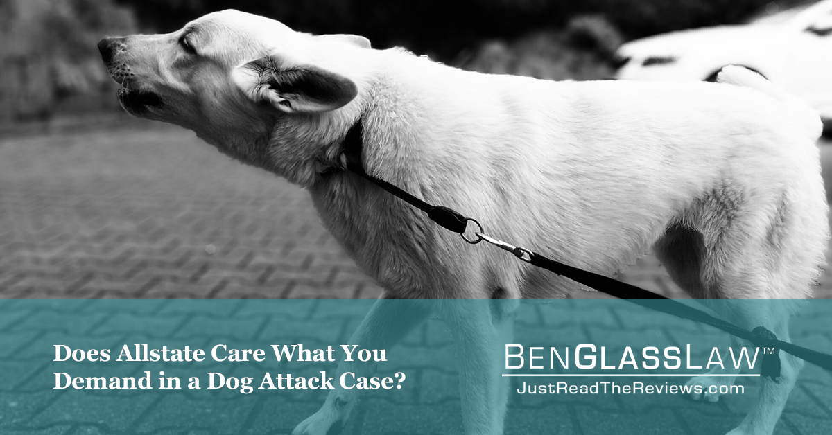 Does Allstate Care What You Demand in a Dog Attack Case?