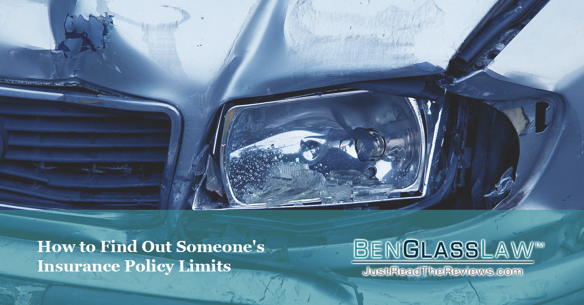 If you've been injured in an accident in Virginia, you probably want to know the other driver's insurance limits. Here is how you can find out.