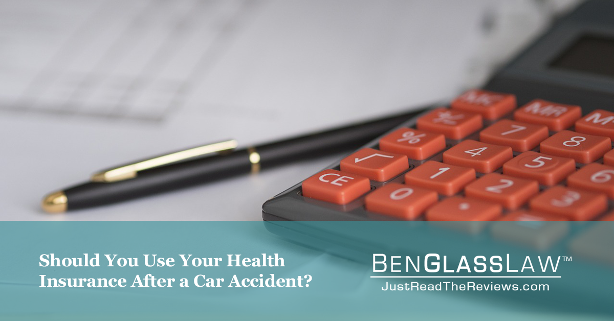 Should you use your health insurance after an accident?