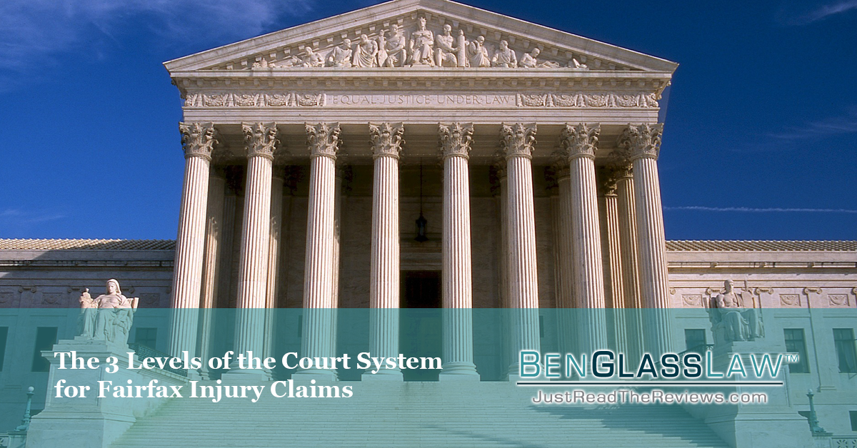 The 3 Levels of the Court System for Fairfax Injury Claims