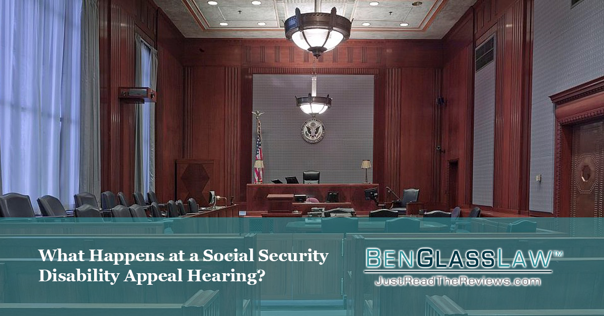 What will happen at your social security disability hearing?