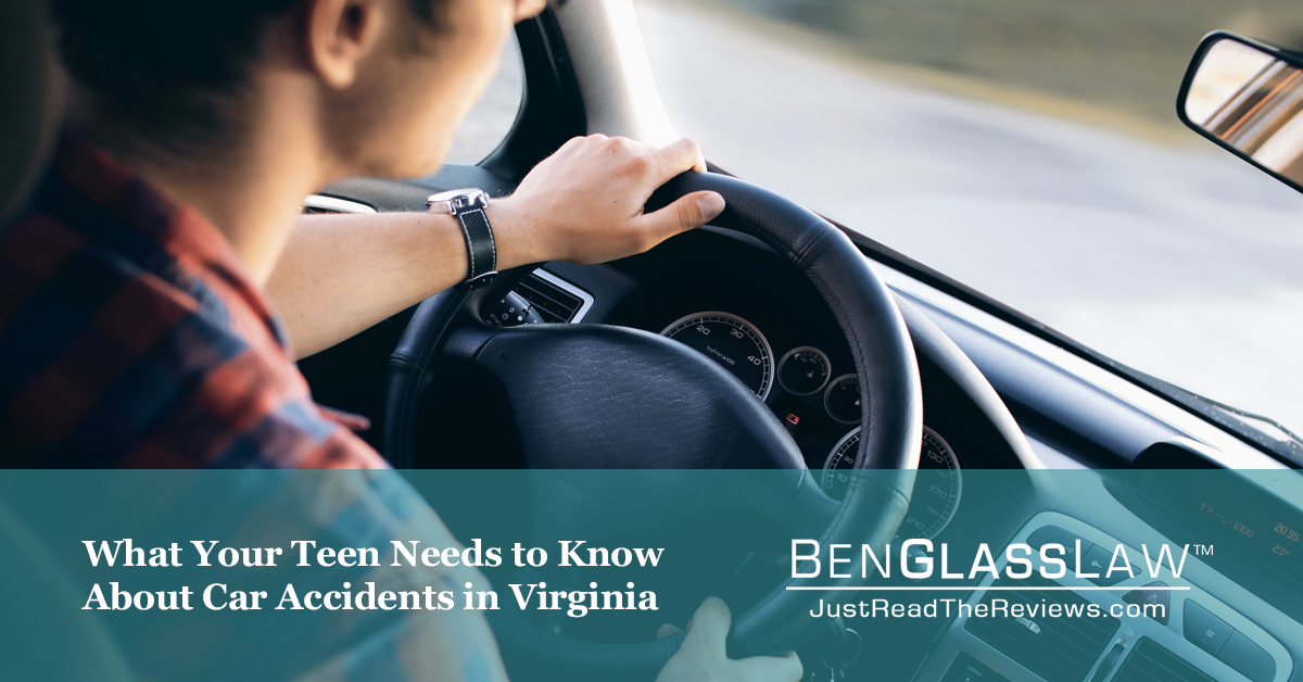 What Your Teen Needs to Know About Car Accidents in Virginia